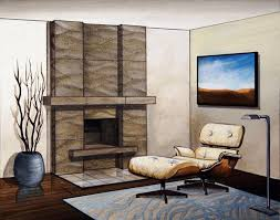 contemporary wood fireplace mantels