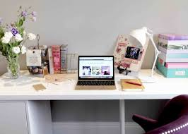 office desk space. Like Love Do Create Your Own Personal Desk Space Ikea Next Lamp Office G