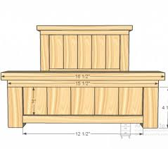 ... How To Build A Headboard And Footboard 11841