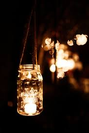 lighting in a jar. A Simpler Mason Jar Idea. Just Add Rope And Tea Light. Easy, Lighting In I