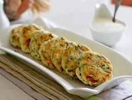 Рецепты кулинарных блюд Сырники с зеленью и яйцом