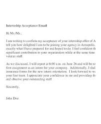 Accepting Offer Letter Offer Letter Acceptance Email Reply Sample Job