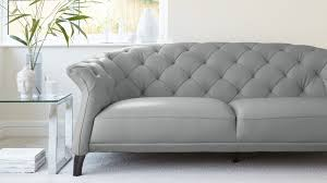 modern leather sofa. Contemporary Modern Cloud Grey Quality Leather Sofa And Modern A