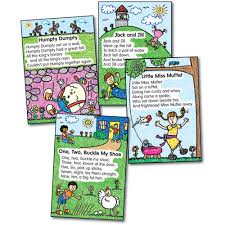 Little Miss Chart Nursery Rhymes Kid Drawn Bulletin Board Set