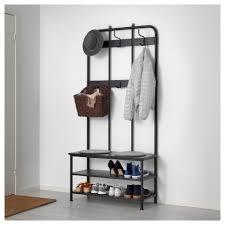 Coat Rack Calgary PINNIG Coat rack with shoe storage bench IKEA 1