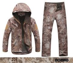 Nomad Hunting Pants Size Chart Nomad Softshell Sharkskin Waterproof Fleece Jacket Pants Tad