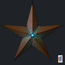 Weihnachtsstern Beleuchtet Aussen Rost Tucc88rkis Dark