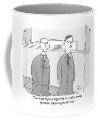 The office coffee mug Nbc Boss Speaks To His Employee In The Office Coffee Mug For Sale By Peter C Vey Conde Nast Store Boss Speaks To His Employee In The Office Coffee Mug For Sale By