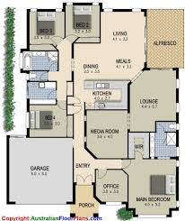 Small 4 Bedroom House Plans Floor Plans 4 Bedroom 3 Bath Images