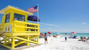 Siesta Key, Sarasota Average Gulf Water Temp and Beach Flag Info ...