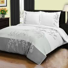 superior sydney 3 piece cotton duvet cover set