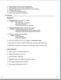 Resume Format For Electronics Engineering Student. Engineering ...
