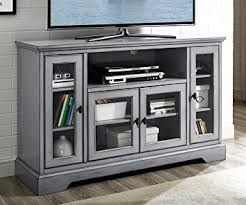 grey tv stand. Plain Stand Amazoncom WE Furniture 52 With Grey Tv Stand E