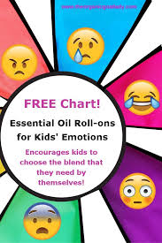 Essential Oil Roll Ons For Kids Emotions The Organic