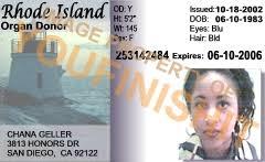 Island Id Od Card Rhode