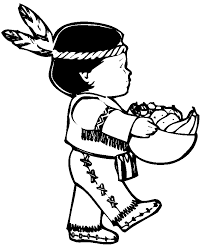 Small Picture Childern Thanksgiving Coloring Pages Of Indians Easter Coloring