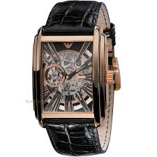 men s emporio armani meccanico skeleton automatic watch ar4233 mens emporio armani meccanico skeleton automatic watch ar4233
