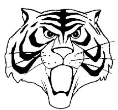 Disegno Di Maschera Uomo Tigre Da Colorare Per Bambini Con Tigre Da