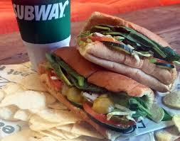 subway veggie delight sandwich