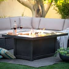propane outdoor fire pit table s paramount fp 251 round lp diy coffee