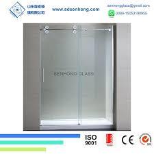 china 10mm clear swing sliding frameless tempered glass shower door china shower door glass door