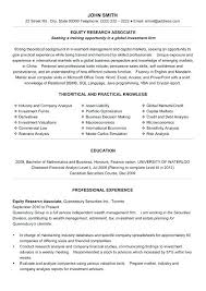 Equity Sales Assistant Resume Click Here To Download This Equity ...