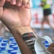 Proud Runner Marathon Temporary Pace Tattoos