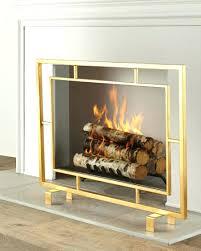modern fireplace screen custom contemporary screens candice olson glass