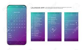 Calendar Interface Design User Interface Design Mobile Calendar App Phone App Calendar