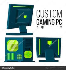 Hardline Design Custom Gaming Pc Vector Modern Custom Build Personal