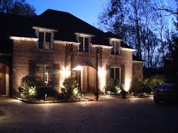 convenient front yard lighting landscape