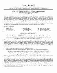 Federal Resumes Examples Federal Government Resume Template Inspirational Federal Resumes 1