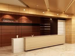 hotel reception front desk