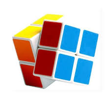 Buy Emob 2x2 Rubik Magic Puzzle Neon Colors High Speed Cube Online