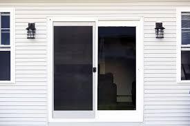 winterize sliding glass door