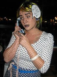 carnival is ing here is a great idea for a costume roy lichtenstein costume by sarah hoke you can also have a look at another post with another