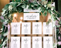 Wedding Seating Chart Template Seating Plan Wedding Seating Cards Table Cards Seating Cards Pdf Instant Download Bpb203_5