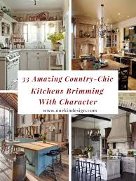 Southern Chic Designs 33 Amazing Country Chic Kitchens Brimming With Character