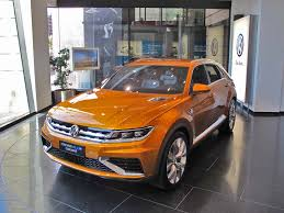 VW Weighing Options for Two Cross Blue Concepts VW CrossBlue Coupe ...