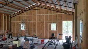 pole barn interior wall covering dubious design archives hansen buildings decorating ideas 48