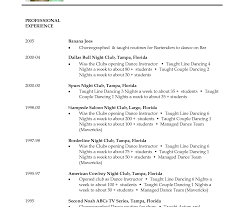 Usc Resume Template Resume Templates Awful Dance Template Fore Teams Audition Company 21