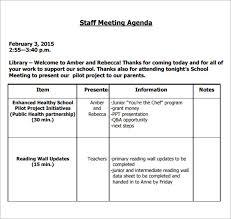 Staff Meeting Format - Kleo.beachfix.co