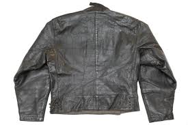 1940 s swedish army motorcycle dispatch leather jacket