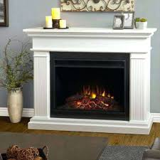electric fireplace walls white electric fireplaces the home depot within fireplace designs 1 decor flame