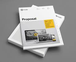 design proposal layout design proposal template temply