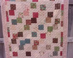 Patchwork lap quilt   Etsy & Patchwork Lap Quilt - Madeira traditional Adamdwight.com