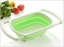 over the sink colander plastic