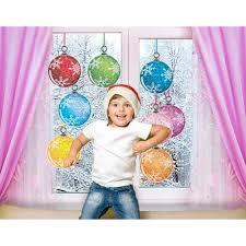 Fenstersticker No485 Weihnachtskugeln Weihnachten Kugeln