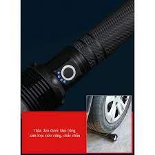 Đèn Pin Siêu Sáng Xhp70 Hợp Kim Công Suất Lớn 30w pin sạc, Chống Nước,  Chiếu Xa Hàng Trăm Mét - Đèn pin Nhãn hàng OEM