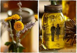 Decorative Oil Jars August and After DIY vintage pictures and mason jars 26